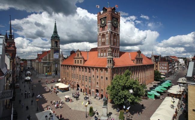 Town Hall Torun Poland